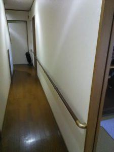 【改修後】廊下横手すり
