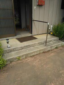 【改修前】玄関階段